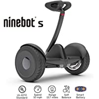 Segway Ninebot S Smart Self Balancing Transporter by Segway - Pro Hoverboard for Adults & Kids - Dual 400W Motors UL2272 Certified