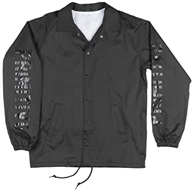 Primitive Block Coaches Jacket In Black At Amazon Mens Clothing Store