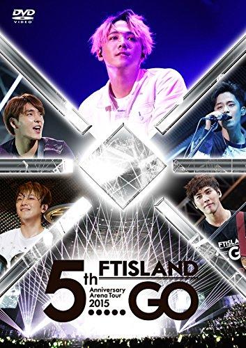 "FTISLAND FT 아일랜드 5th Anniversary Arena Tour 2015 ""5.....GO"" [DVD]"