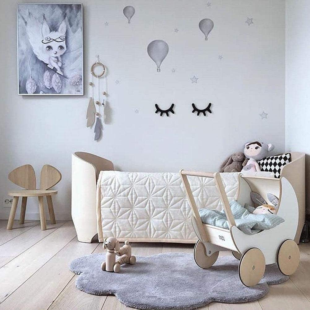 Winnerruby Childrens Game Crawling Mat Cloud Style Cloud Style Room Decoration 100 cm X 65 cm