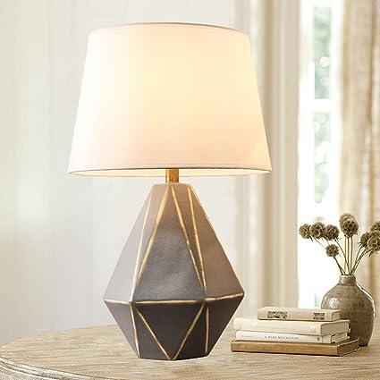 WYDM Lámpara de Mesa de cerámica Simple Lámpara de Mesa de ...