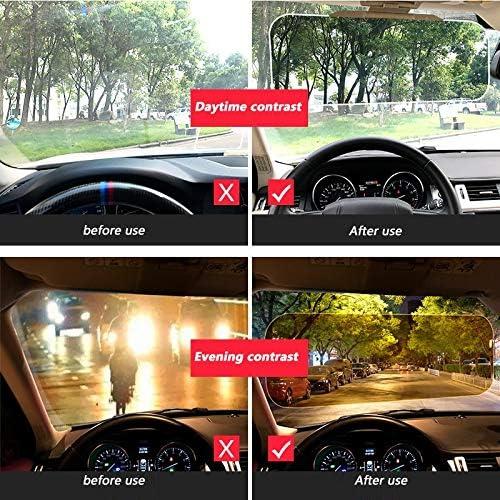 Sonnenblendenverl/ängerung Wjw Driving Sonnenblende Auto Tag und Nacht Blendschutz Sonnenblende 2 in 1 hochwertige Universal
