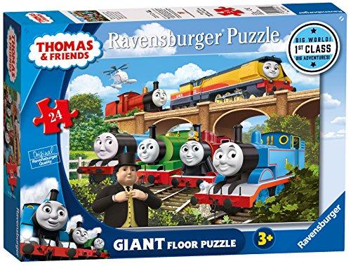 (Ravensburger Thomas & Friends Rebecca Joins The Team, 24pc Giant Floor Jigsaw)