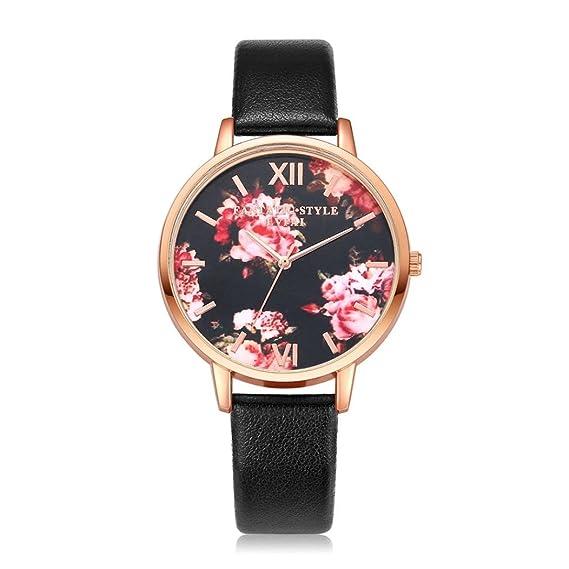 Armbanduhr Damen Uhr Xinnantime 2018 Trend Drucken Rose Analoge