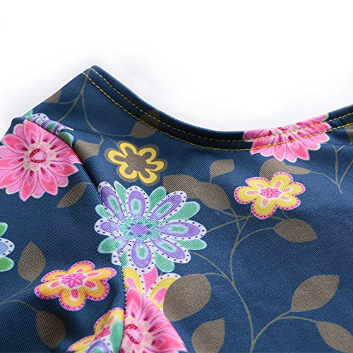 29a387315ade DAXIANG One-Piece Gymnastics Leotard Long Sleeves Floral - Import It All