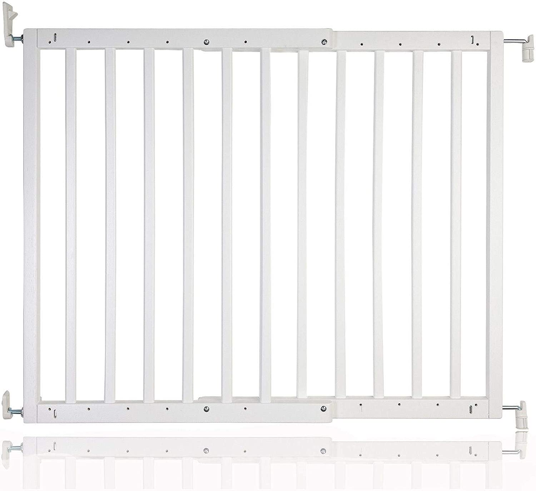 Safetots–Tornillo de madera para puerta de seguridad, color blanco, 63,5a 105.5cm