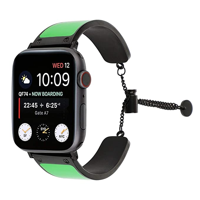Amazon.com: Juzzhou - Correa de reloj para Apple Watch ...