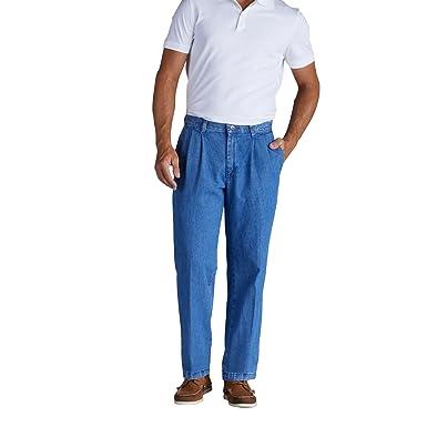 para 38 Stonewash Lee manchas a 31 hombres x Pantalón plisado resistente las 4q6wx7Y