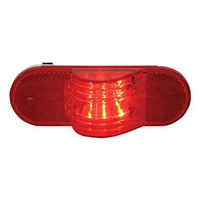 Grand General 79842 Oval Side LED Marker/Turn/Clearance Light with Reflector: Automotive