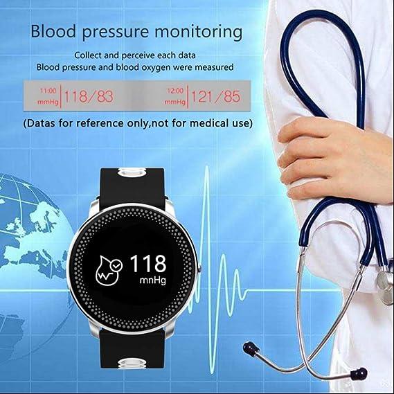 Smart pulsera Monitor de frecuencia cardíaca monitor de presión ...