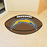 "Fanmats Home Indoor sports Team Logo Mat San Diego Chargers Football Rug 22""x35"""