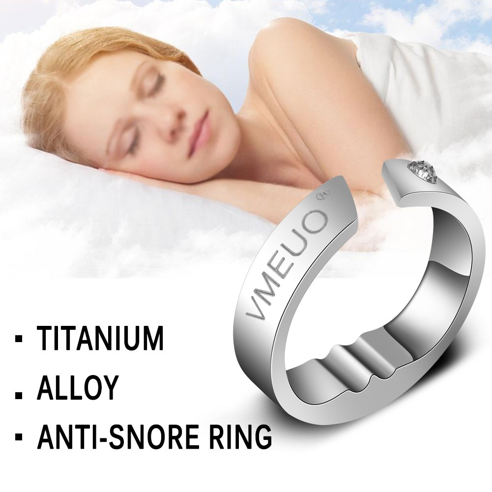 Anti Ronquido Anillo para una persona que roncaba frecuentemente-correspondiente alivio para ambos comodidad y eficacia-Tratamiento Stop Snore Device: ...