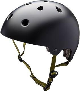 Kali Maha casque Noir solide–Taille Medium 59–61cm BMX Scooter VTT