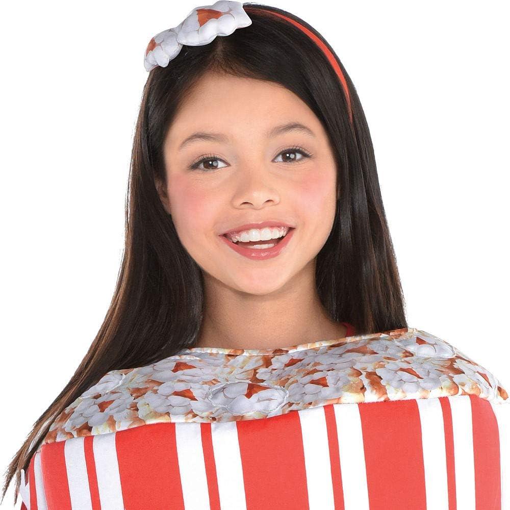 SUIT YOURSELF Disfraz de palomitas de maíz para niñas, estándar, con diadema: Amazon.es: Ropa y accesorios