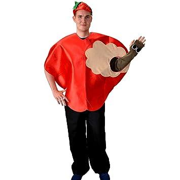 Apfel Kostum Max Mit Wurm Einheitsgrosse Rot Fruchte Garten Obst