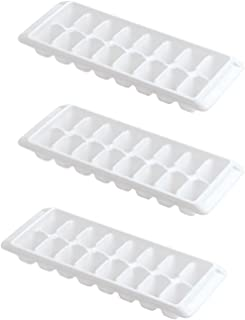 product image for Rubbermaid - Ice Cube Tray, 16 cube trays (3 Pack, White)