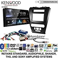 Volunteer Audio Kenwood DDX9904S Double Din Radio Install Kit with Apple CarPlay Android Auto Bluetooth Fits 2010-2012 Fusion (Black)