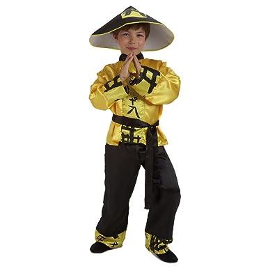 El Rey del Carnaval - Disfraz chino talla 3-5 años: Amazon.es ...