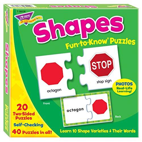 Trend Enterprises Inc. Shapes Fun-to-Know Puzzles