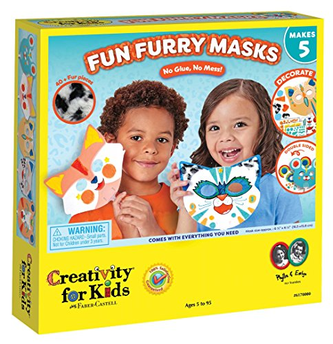 Fun Furry Masks - Craft 5 Animal Masks for Kids ()
