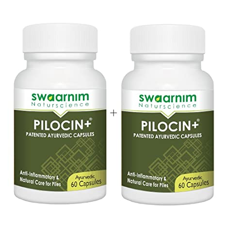 Buy Natural Care For Piles Pilocin 60 Capsules Pack Of 2 Gmp