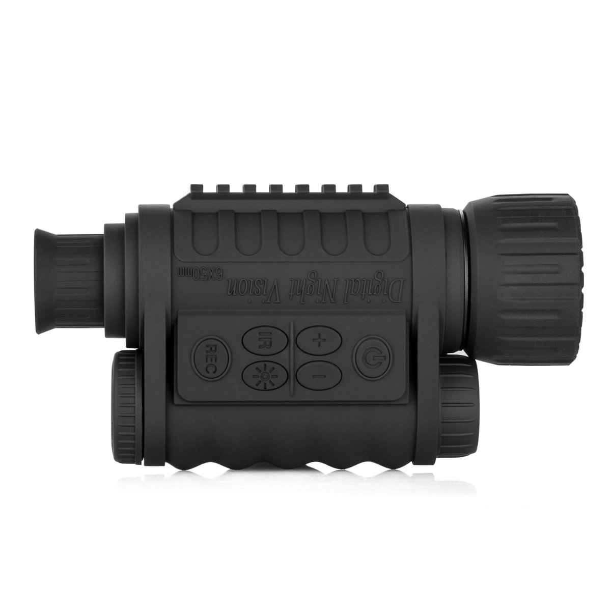 Gemtune WG-50 6x50mm HD Digital Night Vision Monocular with 1.5 inch TFT LCD Camera and Camcorder Function Takes 5mp Photo 720p Video from 350m Distance for night watching or observation by GemTune (Image #3)