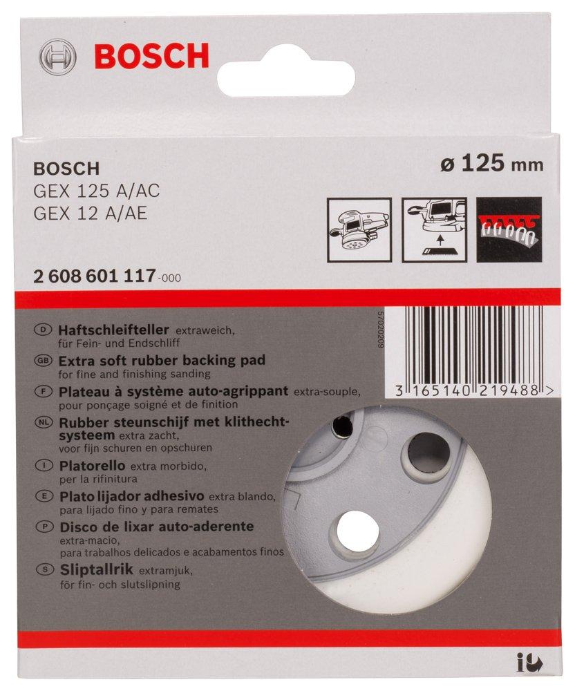 BOSCH (Bosch) random action sander for rubber pad 125mmƒÓ (soft) [2, 608, 601, 117]: Amazon.com: Industrial & Scientific