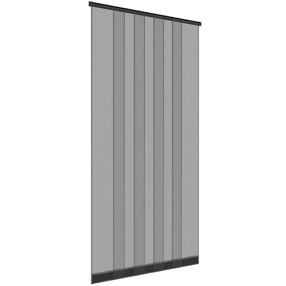 cosidos pesas y discos de fibra de vidrio easy life mosquitera para puerta 100 x 220 cm Color de PVC pinza