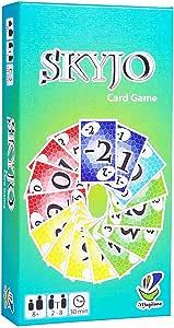 ICVDSRG El úLtimo Juego De Cartas para NiñOs Y Adultos: Skyjo (VersióN En IngléS): Amazon.es: Hogar