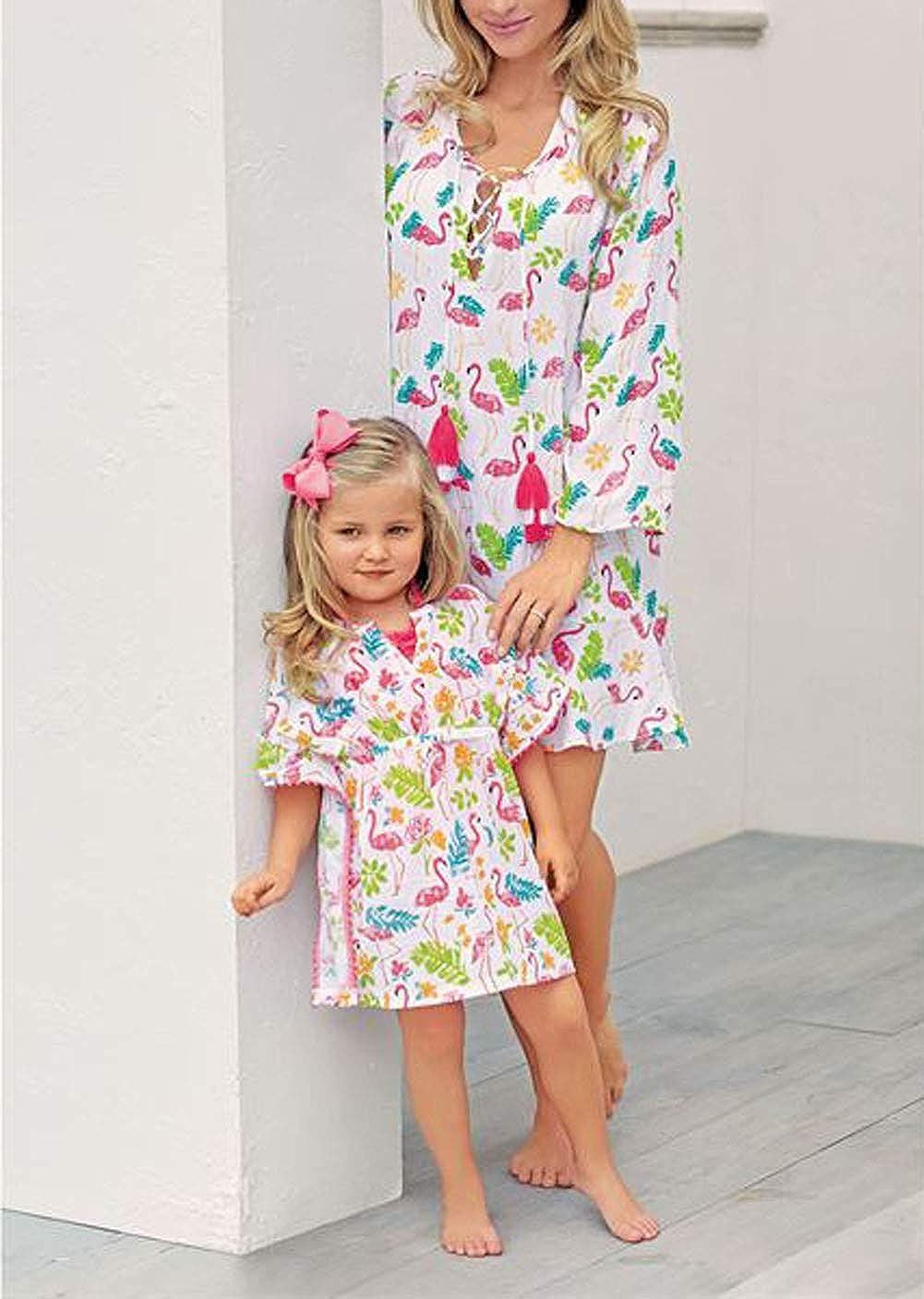 Amazon.com: Little Girls - Bañador de lino con diseño de ...