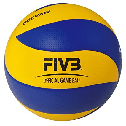 Amazon.com   Mikasa MVA 200 Ballon de volley-ball Multicolore Taille ... f651fc524ef6b