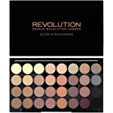 Makeup Revolution, palette di ombretti Ultra 32 Shade Eyeshadow Flawless Matte, da 16 g