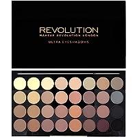MAKEUP REVOLUTION Ultra 32 Shade Eyeshadow Palette Flawless Matte, 16 g