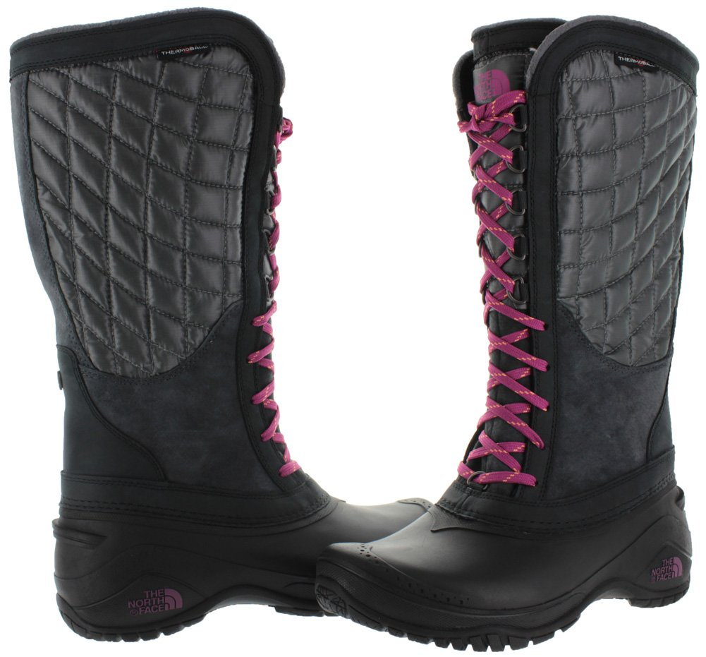 The North Face Thermoball Utility Boot Women's B00RW5DCAG 8 B(M) US|Plum Kitten Grey/Radiance Purple (Prior Season)