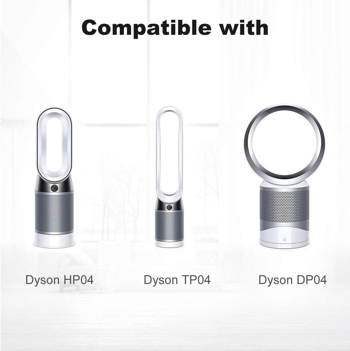 AIEVE Filtro de Repuesto para Dyson Pure Hot Cool HP04 y Pure Cool TP04 DP04 Purificador de Aire y Ventilador, Sistema de Filtro Sellado de Dos etapas 360 °: Amazon.es: Hogar