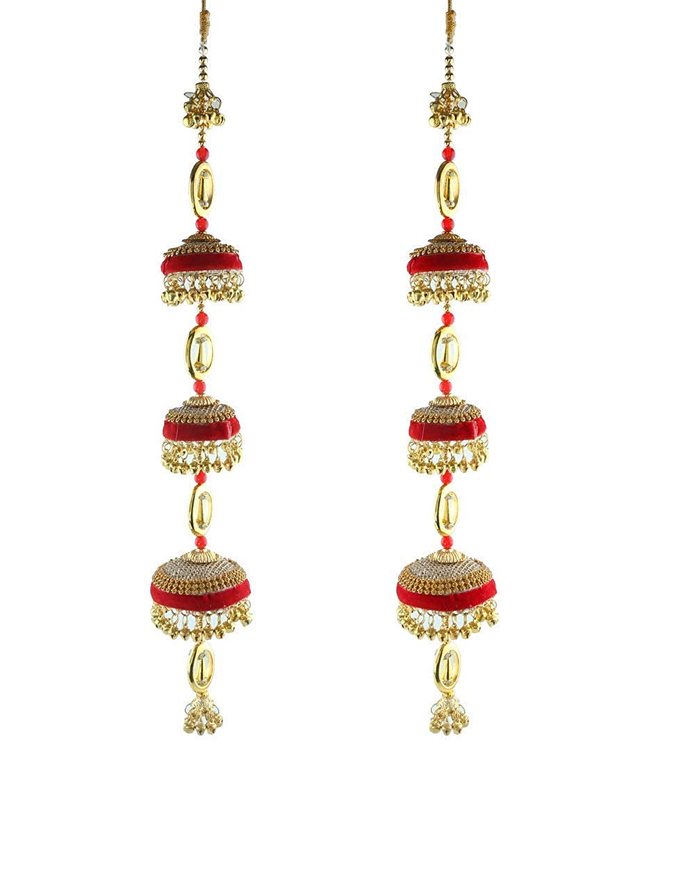 Red Colour Wonderful Adorable Classy Traditional Kaleera