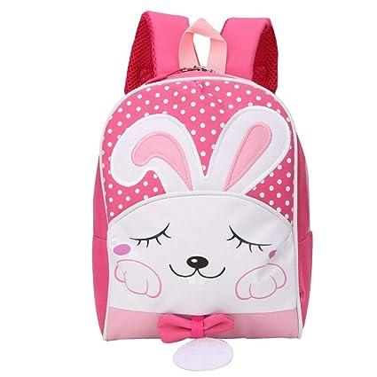 Mochila para niños, mochila anti-perdida de dibujos animados con ...
