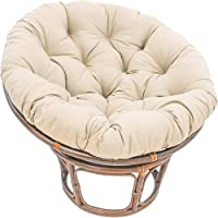 Home Outdoor & Indoor Papasan Chair Cushion, Overstuffed Seat Cushions Pads, Thick Chair Cushion Pad, Hammock Swings…