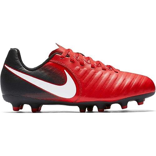 Jr Unisex Niños Tiempo Rio IV FG fútbol Botas Nike Rojo de CdxeBo