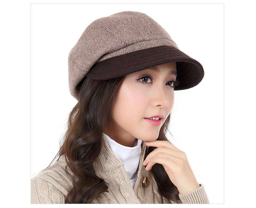 Ladies Summer Women's Spring Fall Casual Beray Foldable Sun Hat Beige