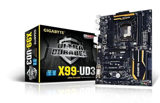 4 opinioni per Gigabyte GA-X99-UD3 S.2011 Scheda Madre, 4 x DDR 4, Nero