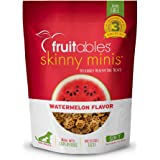 Fruitables Skinny Minis Grain Free Soft Dog Treats Watermelon Flavor 5 Oz