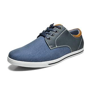 Bruno Marc Men's RIVERA-01 Navy Oxfords Shoes Sneakers - 9.5 M US