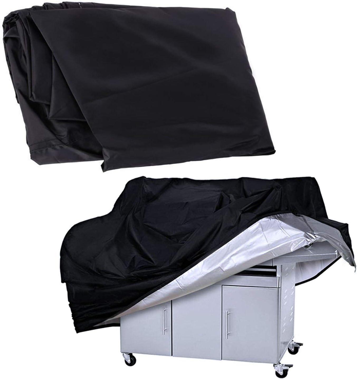 Housse Barbecue Protection Heavy Duty Oxford Tissu R/ésistant Leau Jardin Meubles Couvre Rip-preuve Anti-poussi/ère Couverture