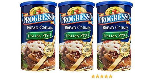 Progresso Bread Crumbs Italian Style 24 Oz 3 Count