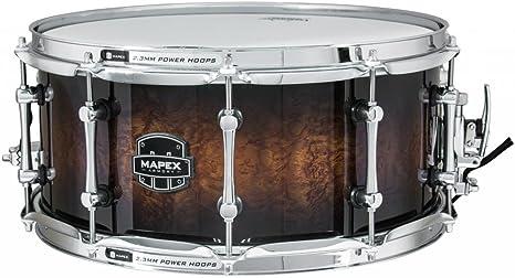 MAPEX ARBW4650RCTK - ARMERÍA EXTERMINADOR - 14X6, 5 - 6,85 mm 7 PLY BOULEAU/ tambor de madera caja de madera de nogal: Amazon.es: Instrumentos musicales