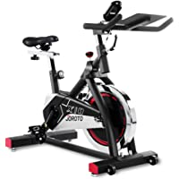 JOROTO Indoor Cycling Bike Trainer - Professional Exercise Bike Stationary Bike for Home Cardio Gym Workout (with Electronic Display)
