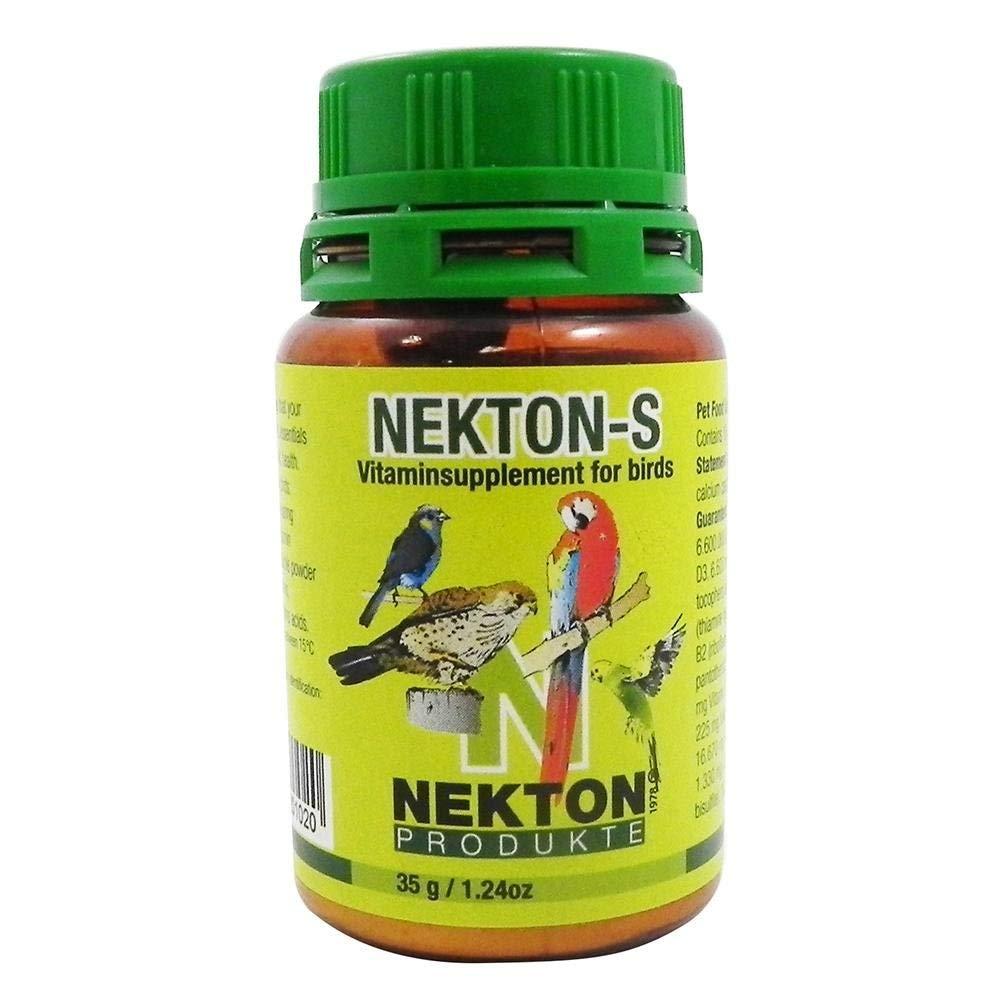 Nekton S fü r Ziervö gel, Multivitaminprä parat fü r Alle Vogelarten 1er Pack (1 x 750 g) 201750