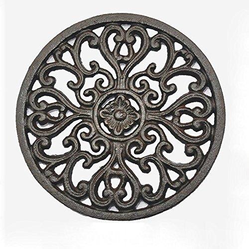 cast iron flower pot holder - 2