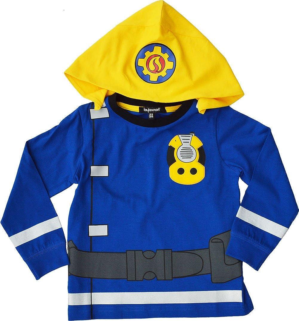 Fireman Sam Pyjamas PJ Nightwear Reflective Novelty Dressup